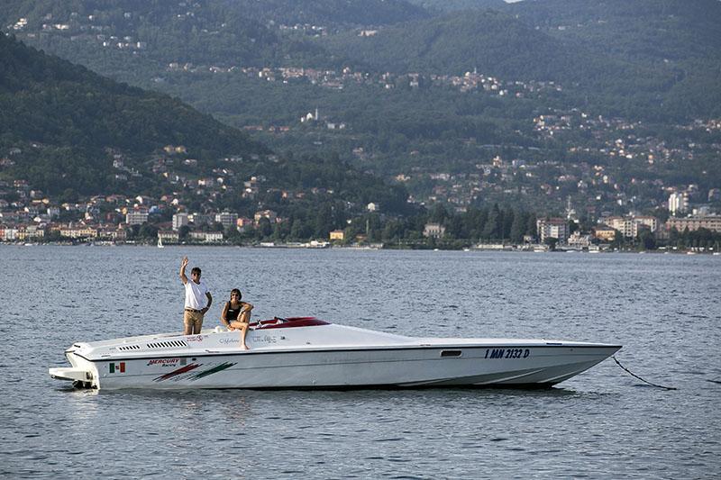 Tour du lac avec offshore ou bateau Riva