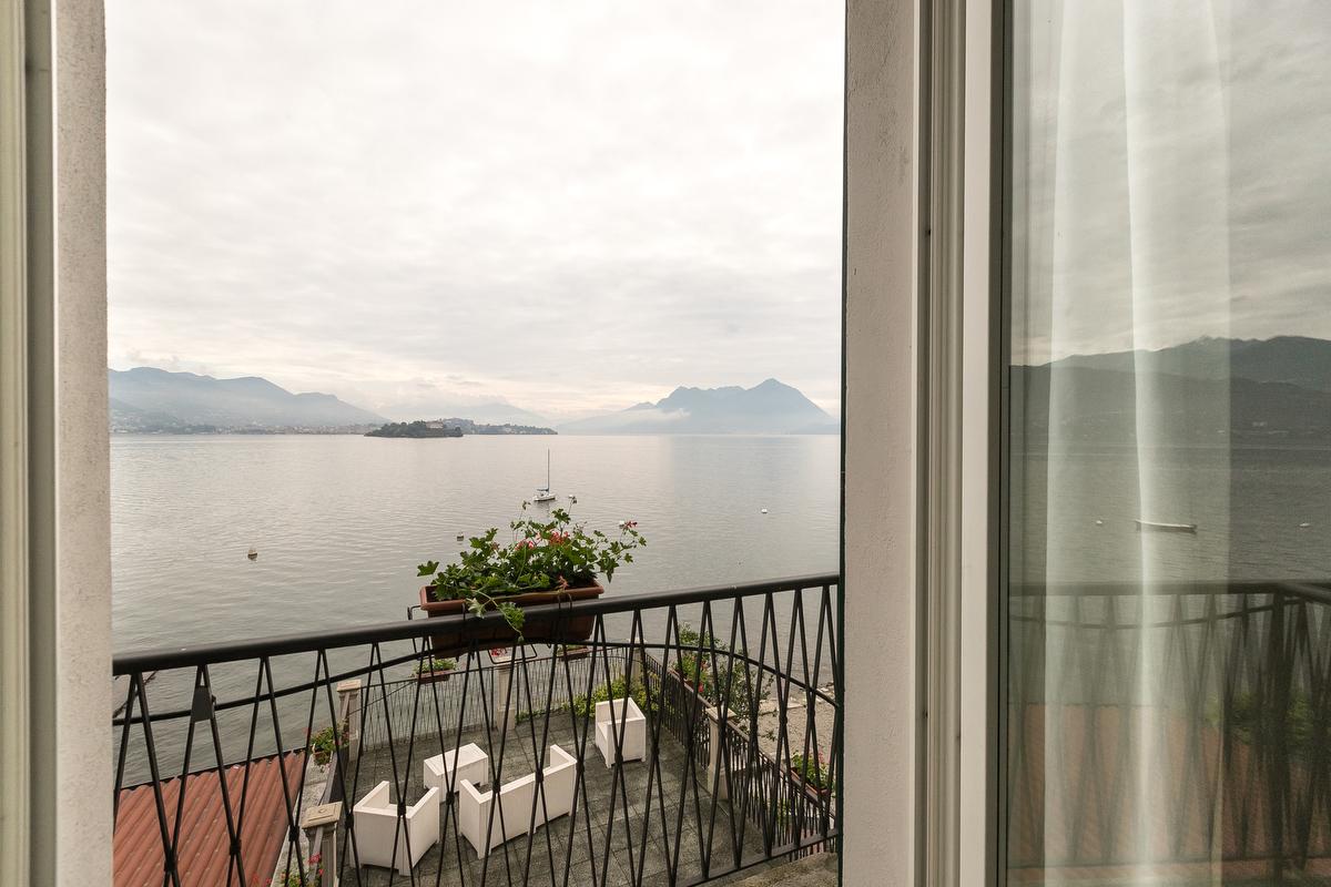 Vista lago - Camere standard, hotel Belvedere Isola dei Pescatori
