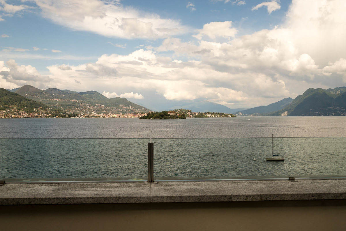 Camera Junior Suite con vista Lago Maggiore, Isola Pescatori